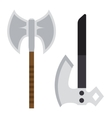 Axe weapon vector image
