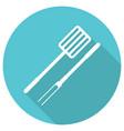 grill icon vector image vector image