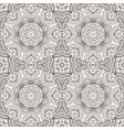 seamless doodle pattern ethnic motives coloring vector image vector image