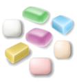 Soap set vector image vector image