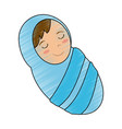 baby jesus cartoon vector image vector image