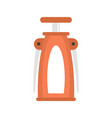 butterfly corkscrew icon flat style vector image vector image