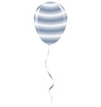 candy prison balloon ribbon fantasy isolated vector image vector image