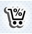 commercial tags design vector image vector image