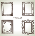 Frame set hand drawn vector | Price: 1 Credit (USD $1)
