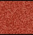 geometric diagonal square mosaic pattern vector image vector image