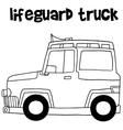 Lifeguard truck design art