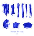 Navy blue indigo watercolor brush stroke texture