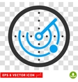 Radar Eps Icon vector image vector image