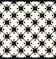 seamless pattern with small circles and circular vector image vector image