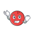 successful bowling ball character cartoon vector image vector image