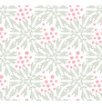 taraxacum floral seamless pattern vector image vector image