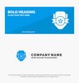 badge club emblem shield sport solid icon website vector image