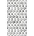 hexagon texture hexagonal grid repeat pattern vector image