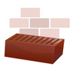 red brick vector image vector image