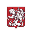 saint george coat arms vector image