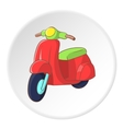 Scooter icon cartoon style vector image