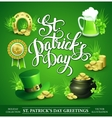 St Patricks Day Set of vector image vector image
