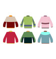 sweater set vector image