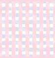 watercolor grid blue and pink stripes vector image