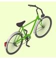 Bicycle isometric vector image