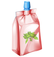 A herbal drink vector image vector image