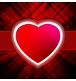 Abstract Heart Burst Background vector image