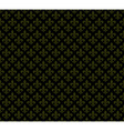 Fleur de lis dark seamless pattern background vector image vector image