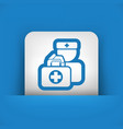 medical to domicile vector image vector image