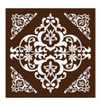 pattern in east asia style as a template vector image vector image