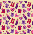 patterns for holidays birthdays and parties vector image