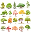 Set of Tree vector image