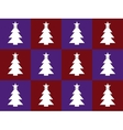 violet and red bacground with christmas trees vector image vector image