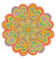 Vivid colored mandala for your design vector image vector image