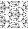 aboriginal dot painting mandala seamless pattern vector image