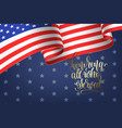 banner to memorial veterans day 11 november vector image vector image