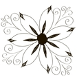 Decorative element border vector image vector image