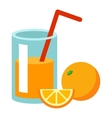 Fresh drink vector image vector image