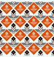 geometric traditional scandinavian ornament vector image vector image