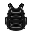 protective waistcoatpaintball single icon in vector image