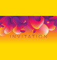 abstract colorful liquid pattern vector image