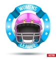 American Football Label vector image vector image
