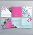 brochure design 995 vector image vector image