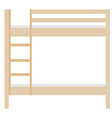 Bunk bed vector image
