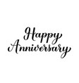 Happy anniversary calligraphy hand lettering