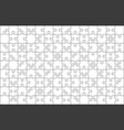 puzzle pieces grid vector image vector image