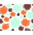 Seamless pattern Hand drawn splashes background vector image