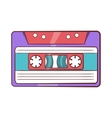 Cassette tape icon cartoon style vector image vector image