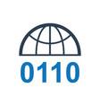 domain registration icon vector image
