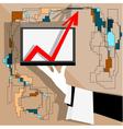 improvement vector image vector image